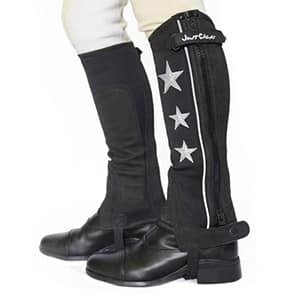 Neoprene Half Chap with silver stars