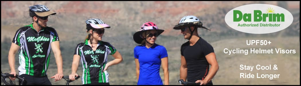 Da Brim Cycling visors