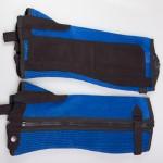 Royal blue air mesh chaps